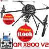 WALKERA (WALKERA-QR-X800-V2) QR X800 V2 GPS Brushless Quadcopter with DEVO F12E Transmitter RTF - 2.4GHz