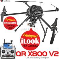 WALKERA QR X800 V2 GPS Quadcopter with DEVO F12E