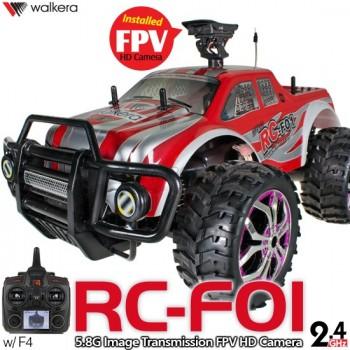 WALKERA RC-F01 FPV HD Camera 1/10 2WD Monster Truck with DEVO F4 ...