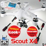 WALKERA Scout X4 FPV GPS Brushless Quadcopter FPV1