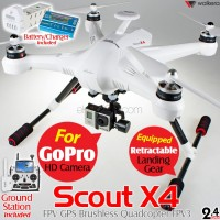 WALKERA Scout X4 FPV GPS Brushless Quadcopter FPV3