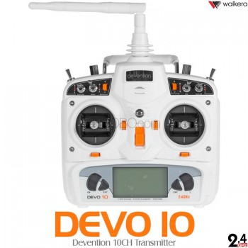 WALKERA (WK-DEVO10-W) Devention 10CH Transmitter (White) - 2.4GHz
