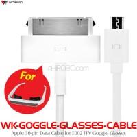 WALKERA (WK-GOGGLE-GLASSES-CABLE) Apple 30-pin Data Cable for E002 FPV Goggle Glasses