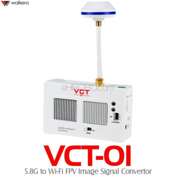 WALKERA (WK-VCT-01) 5.8G to Wi-Fi FPV Image Signal Convertor