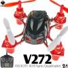 WLTOYS (WL-V272-BK-M2) VELOCITY 4CH Nano Quadcopter RTF (Black, Mode 2) - 2.4GHz