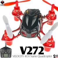 WLTOYS V272 VELOCITY 4CH Nano Quadcopter RTF (Black, Mode 2)
