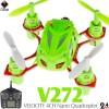 WLTOYS (WL-V272-G-M2) VELOCITY 4CH Nano Quadcopter RTF (Green, Mode 2) - 2.4GHz