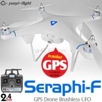 Yunyi-flight Seraphi-F GPS Drone Brushless UFO RTF - 2.4GHz