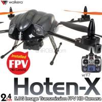 WALKERA Hoten-X FPV Gyro System HD Camera Brushless 4CH UFO with DEVO F7 Transmitter RTF - 2.4GHz