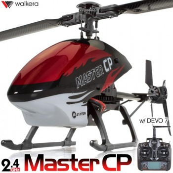 WALKERA Master CP 3D Helicopter with DEVO 7,8S,10 or 12S Transmitter RTF - 2.4GHzWalkera Helicopters