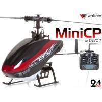 WALKERA Mini CP 6CH Flybarless Telemetry Helicopter with DEVO 6S,7,8S,10 or 12S Transmitter RTF - 2.4GHz