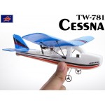 Lanyu (TW-781-D) 2CH Cessna EPO RTF Mini Aeroplane (Blue)