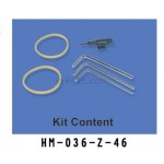 Walkera (HM-036-Z-46) Kit Content