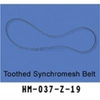 Walkera (HM-037-Z-19) Toothed Synchromesh Belt