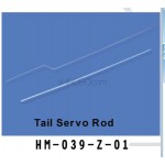 Walkera (HM-039-Z-01) tail servo rod