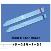 Walkera (HM-039-Z-02) main rotor blades