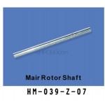 Walkera (HM-039-Z-07) principle axis