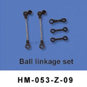 Walkera (HM-053-Z-09) Ball linkage setWalkera Dragonfly 53-Z Parts