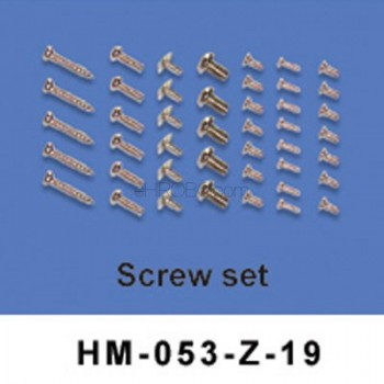 Walkera (HM-053-Z-19) Screw setWalkera Dragonfly 53-Z Parts