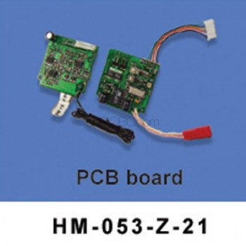 Walkera (HM-053-Z-21) PCB board - 72MHzWalkera Dragonfly 53-Z Parts
