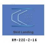 Walkera (HM-22E-Z-16) Skid landing Gear
