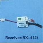 Walkera (HM-5G6-Z-21) receiver (RX-412) - 72MHz