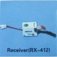 Walkera (HM-5G6-Z-21) receiver (RX-412) - 72MHz