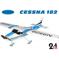 Skyartec (AP03-4-B) Cessna 182 4CH Brushless ARTF EPO Airplane ARTF (Blue) - 2.4GHz