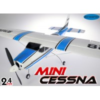 Skyartec (MNCE01-1-B-M1) Mini Cessna 4CH Brushless Airplane RTF (Blue, Mode1) - 2.4GHz