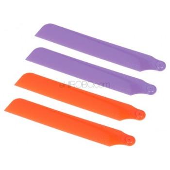 Skyartec (NANO-029) Main Blades Set (Red, Purple)Skyartec WASP 100 NANO CPX (Brushless) Parts