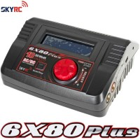 SKYRC (SK-6X80) 6X80 Plus 10A Balance Charger, Motor Tester, Servo Tester