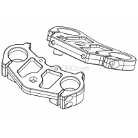 SKYRC (SK-700002-02) front suspension mounts