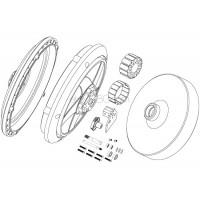 SKYRC (SK-700002-10) parts in the rear wheel