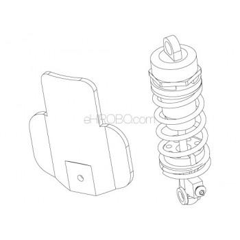 SKYRC (SK-700002-26) rear shock springSR4 Motorcycle Parts