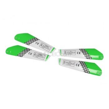SH (SH-6020-BLADES-G) Copter V-Max 6020 Main Rotor Blades (Green)SH / Copter V-MAX Parts