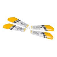 SH (SH-6020-BLADES-Y) Copter V-Max 6020 Main Rotor Blades (Yellow)