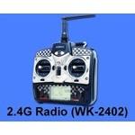 Walkera (HM-4#6-Z-37) 2.4G Transmitter (WK-2402)