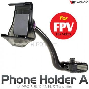 WALKERA (WK-PHONE-A) FPV DIY Video Phone Holder A for DEVO 7, 8S, 10, 12, F4, F7 Transmitter