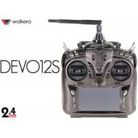 Walkera (WK-DEVO12S) Devention 2.4 GHz Transmitter with Aluminum Case