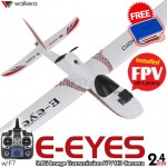 WALKERA E-eyes FPV HD Camera 7CH Brushless Airplane with DEVO F7 Transmitter ARTF - 2.4GHz