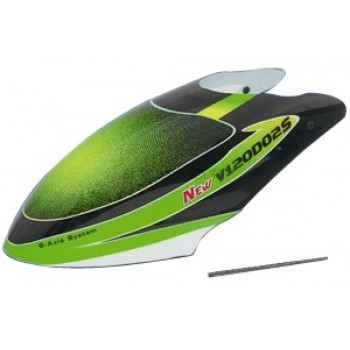 Walkera (HM-NEW-V120D02S-Z-01G) Canopy (Green)Walkera New V120D02S Parts