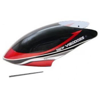 Walkera (HM-NEW-V120D02S-Z-01R) Canopy (Red)Walkera New V120D02S Parts