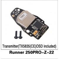 WALKERA (Runner 250PRO-Z-22) Transmitter(TX5835(CE) OSD included)
