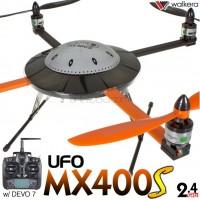WALKERA UFO MX400S 3D 6 Axis Gyro 4CH UFO with DEVO 6S,7,8S,10 or 12S Transmitter ARTF - 2.4GHz