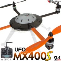 WALKERA UFO MX400S 3D 6 Axis Gyro 4CH Deluxe Version UFO with DEVO 6S,7,8S,10 or 12S Transmitter ARTF - 2.4GHz