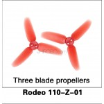 Walkera (Rodeo 110-Z-01) Three blade propellers