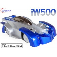 WECCAN (WC-IW500-BL) iPhone/ iPad/ iPod controlled Wall Climbing Radio Control Car Infrared RTF (Blue)