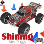 WLTOYS (WL-2019-R) Shining Mini Truggy RTR (Red) - 49MHz