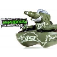 YD (WT-24883-G) Amphibious Tank w/ Water Cannon RTF - Green