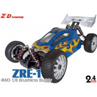 ZD Racing (ZD-08425) ZRE-1 4WD 1/8 Scale Brushless Electric Buggy RTR - 2.4GHz